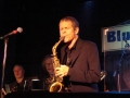 With David Sanborn at the Blue Note
