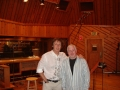 With Paul McCartney at Avatar Studios