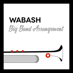 Wabash arr. for Big Band